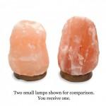 Natural Himalayan Salt Lamp (Small: 2-3 kg)